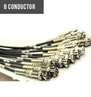 8 and 9 conductor coax