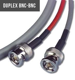 Duplex BNC-BNC w/tracer cord